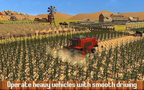 Farming Sim Hill Tractor 1.6 Mod Android Updated 3