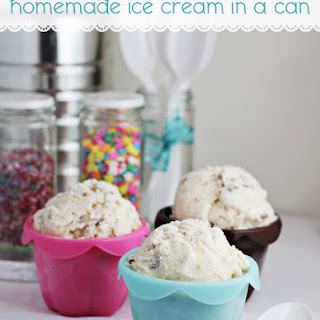 Homemade Ice Cream in a Can