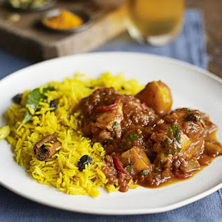 Cape Malay Chicken Curry with Yellow Rice Recipe