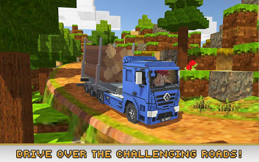Blocky Truck Simulator 2018 1.5 {cheat|hack|gameplay|apk mod|resources generator} 3