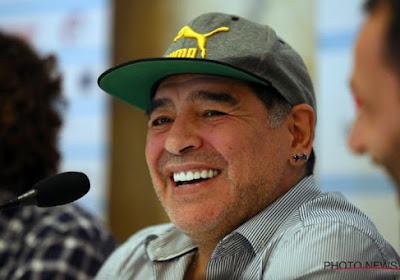 Diego Armando Maradona va entraîner Marvin Ogunjimi