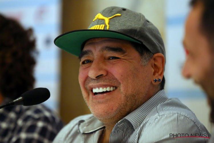 Officiel !  Diego Maradona n'est plus le coach des Dorados de Sinaloa