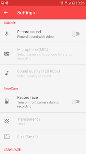 Screen Recorder: miniatura de captura de pantalla