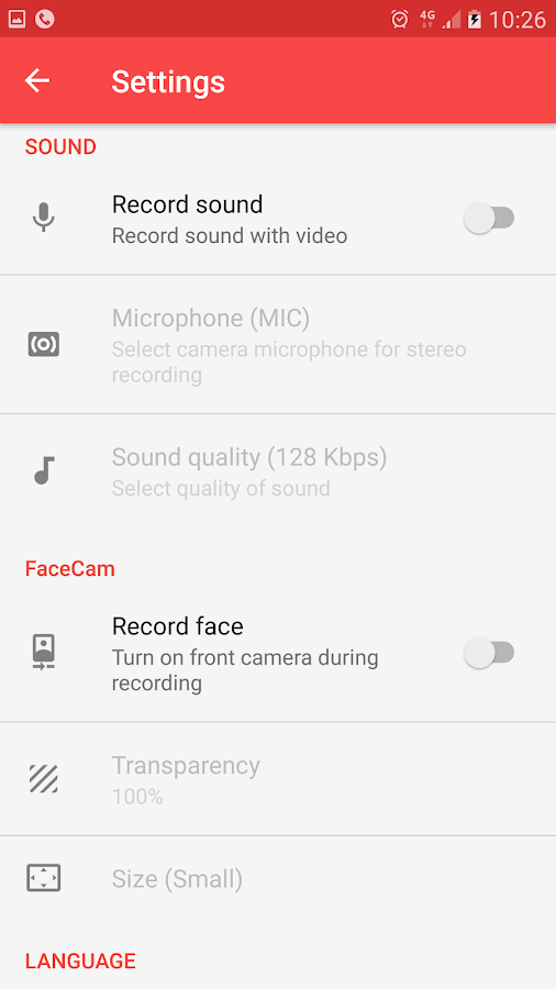 Screen Recorder: captura de pantalla