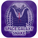 space galaxy snake icon