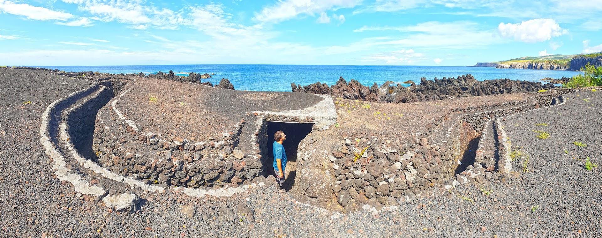 Conhecer as trincheiras da ilha Terceira