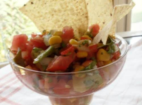 "Shawn's Salsa Fresca ""This salsa is great for picnics and get-togethers. I..."