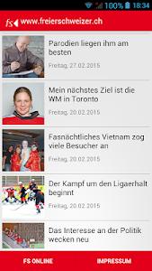 Freier Schweizer screenshot 0