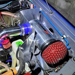 ジムニー JB23W X-Adventure XC(クロスアドベンチャーXC JB23-8型)パールメタリックカシミールブルー初年度登録 2012年(平成24年)4月のカスタム事例画像 Compact Blue さんの2021年02月06日23:54の投稿