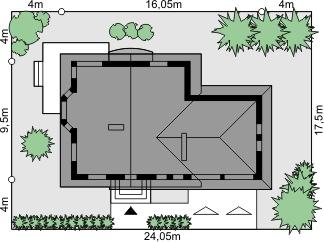 Dom przy Cyprysowej 38 - Sytuacja
