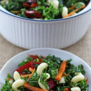 Weeknight Kale Pasta Salad