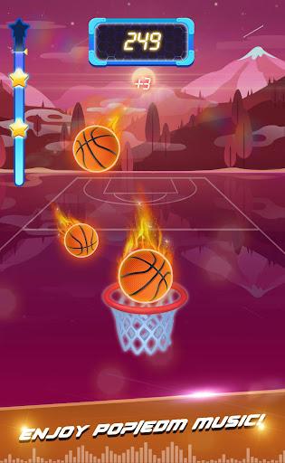 Beat Dunk - Free Basketball with Pop Music 1.2.1 screenshots 5