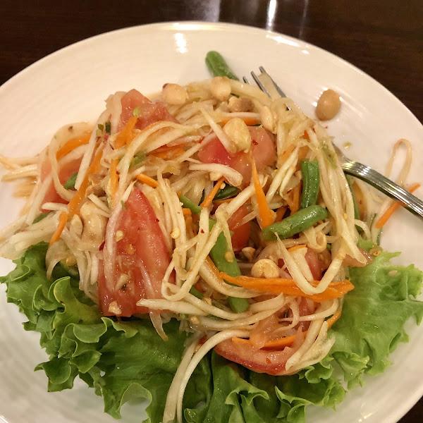 Papaya salad 🌶