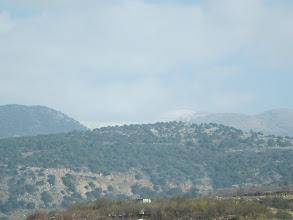 Photo: Snow on Mt Hermon