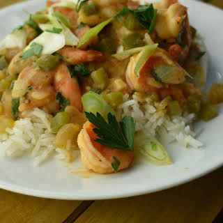 Quick and Easy Shrimp Étouffée.