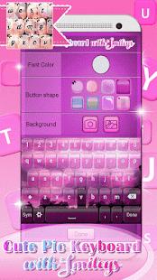Můj foto klávesnice - Smajlíci - náhled