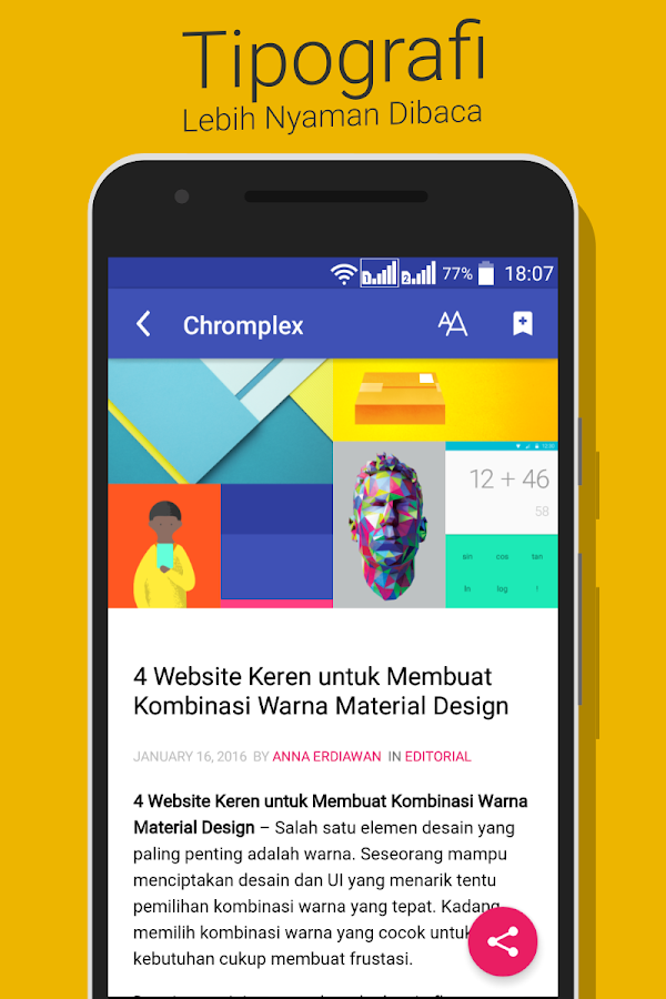 Chromplex : Berita Google ID- screenshot