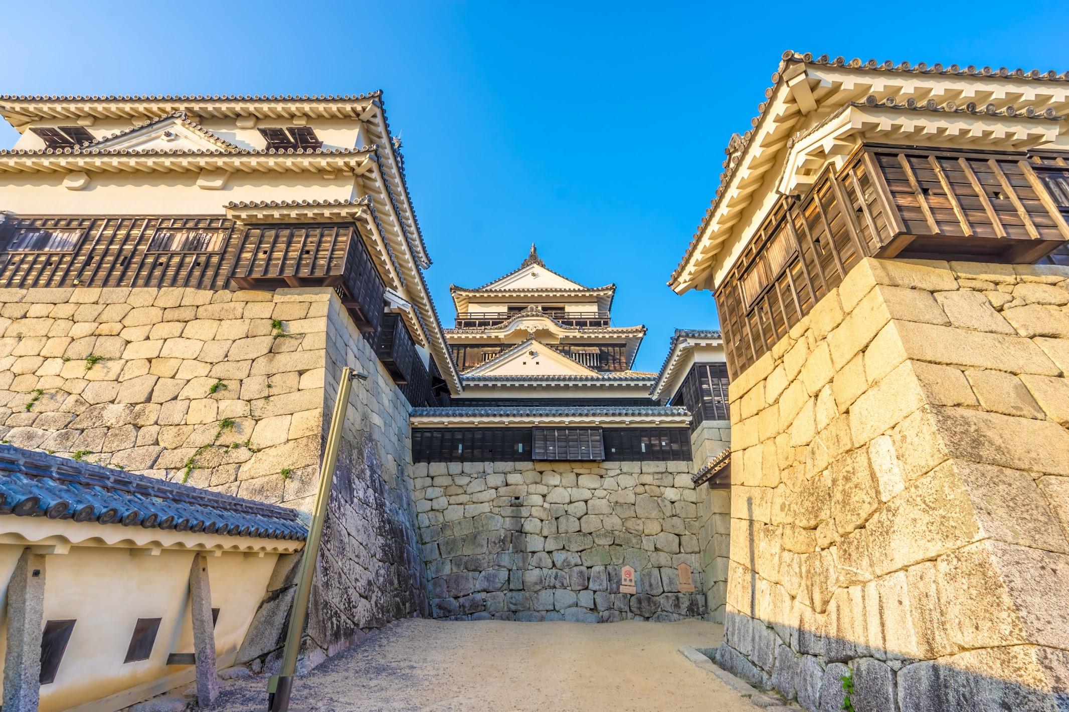 Matsuyama Castle tower1