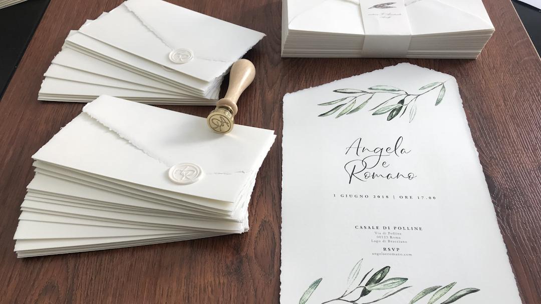 Partecipazioni Matrimonio Carta Amalfi.Tipografia Arti Grafiche Roma Partecipazioni Di Matrimonio In