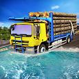 Heavy Truck Driver Cargo icon