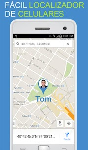 GPS Localizador de moviles por número 5