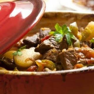 Crock Pot Low-Fat Beef Stew.