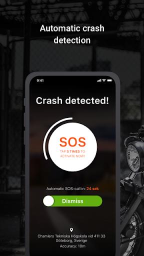 Detecht - Motorcycle GPS App screenshot 1