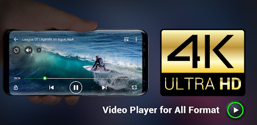 4k video player for android free download