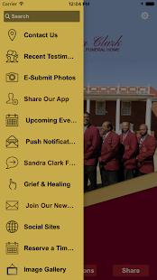 Sandra Clark Funeral Homes - náhled