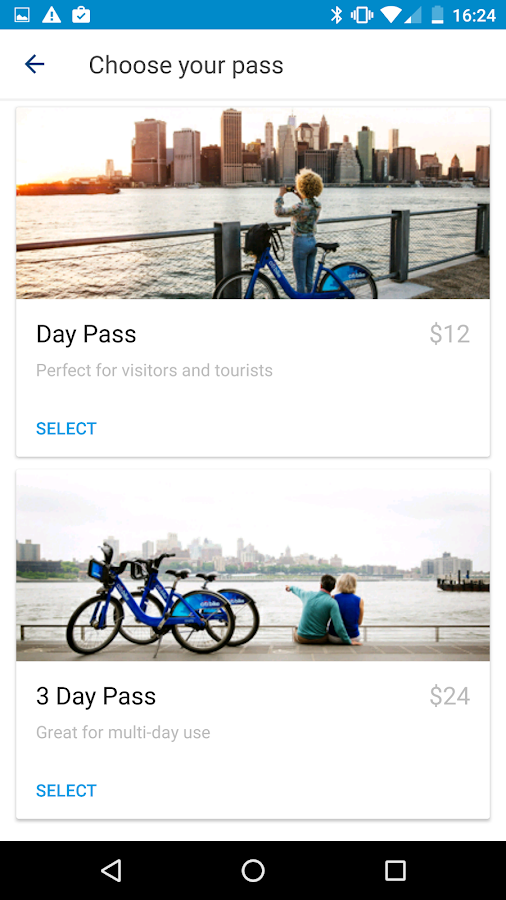 Citi Bike- screenshot