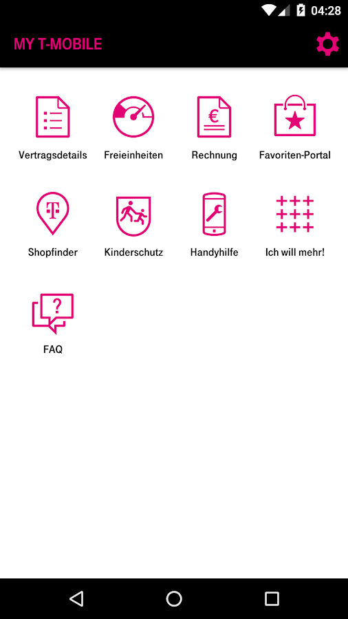 Mein T-Mobile- screenshot