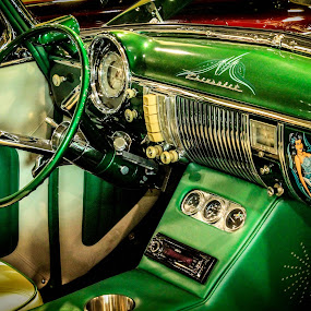Green With Envy by Jay Woolwine Photography - Transportation Automobiles ( classic car, collectible car, car show )