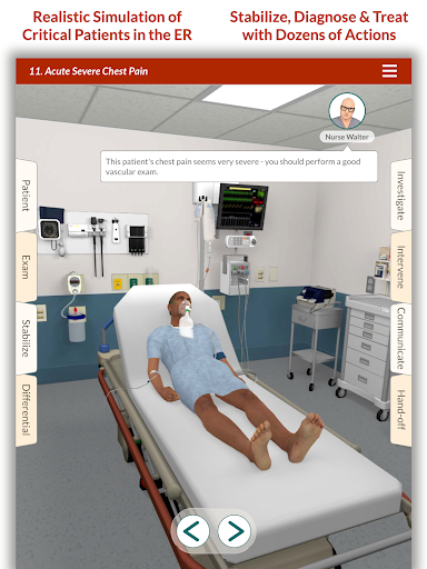 Full Code - Emergency Medicine Simulation 2.4.1 screenshots 7