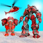 Elephant Robot Car Transform: Robot Shooting Game