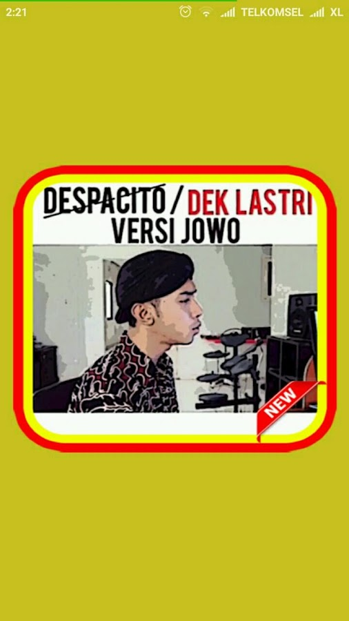 Songs of .Despacito (Javanese Version)- screenshot