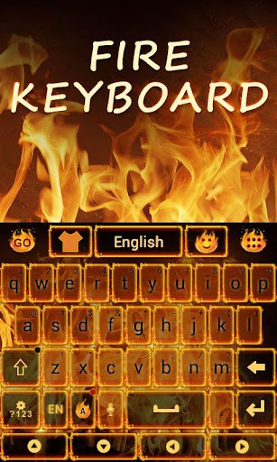 Fire GO Keyboard Theme Emoji