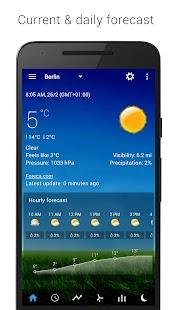 3D Sense Clock & Weather Screenshot