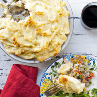 Cheesy Mashed Potato Topped Shepherd'S Pie Recipe
