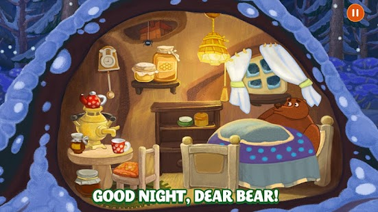 Forestry Animals - Nighty night game for Kids 3+- screenshot thumbnail