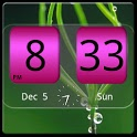 FlipClock NiceAll Pink Widget icon