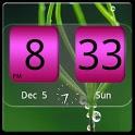 FlipClock NiceAll Pink Widget icon