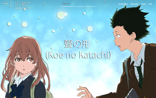 Koe No Katachi Wallpapers Hd Backgrounds