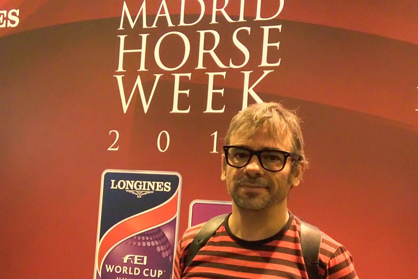 mago Alfonso V en Madrid Horse Week 2016