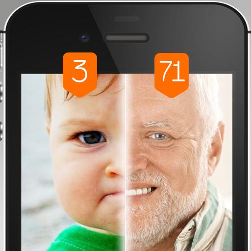 Сканер лица Какой твой возраст Шутка