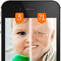 Face scanner What age Prank icon