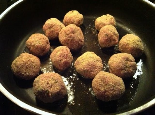 Brown half the meatballs on all sides, 6-8 minutes. Transfer to a paper towel...