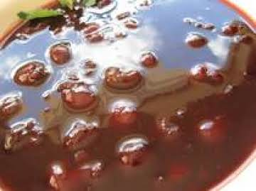 Cold Cherry Soup - Kirsch Kaltschale Recipe