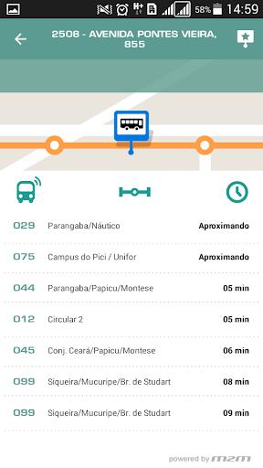 Meu u00d4nibus Fortaleza  screenshots 2