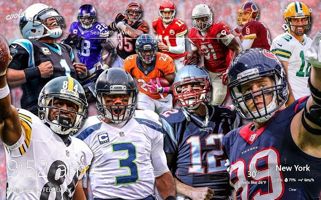 NFL Super Bowl - Football Champions HD Theme