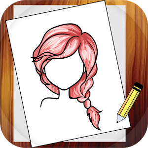 Learn To Draw Hairstyles Android Apps On Google Play - Drawing a hairstyle